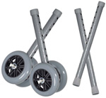 Drive 5 inch Bariatric Walker Wheels Combo Pack