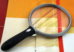 5 Inch Round LED Lighted Magnifier