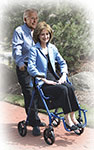 Drive Duet Transport Wheelchair Chair Rollator Walker