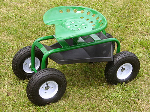 Garden Caddy On Wheels : Garden caddy tractor seat on wheelstag