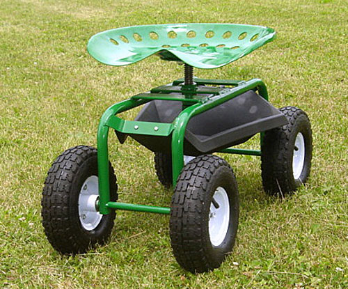 Garden Caddy On Wheels : Garden caddy tractor seat on wheels product additional