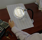 Desktop LED Lighted Magnifier