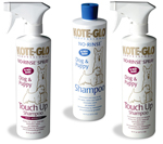 KOTE-GLO Professional NO-RINSE Dog and Puppy Shampoo