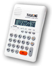 Talking Handheld Calculator with Alarm