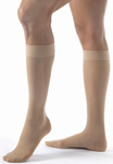Jobst Ultrasheer 15-20 mm Knee High Compression Stocking Natural