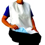 Terry Towel Bib with Liner