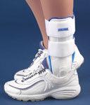 FLA Orthopedics Ankle Stirrup Brace with Air Liners