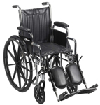 Drive Chrome Sport Wheelchair 16 inch