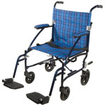Drive Fly Lite Ultra Lightweight Transport Wheelchair